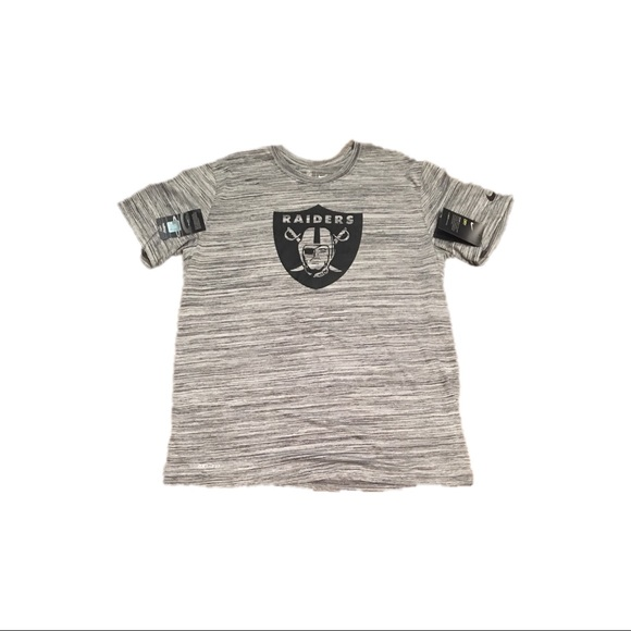 best cheap 8a560 d8afc Oakland Raiders Nike Dri Fit Sideline Shirt Large NWT
